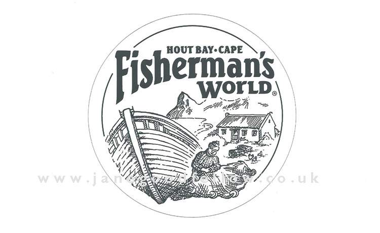 Fisherman's World graphic design