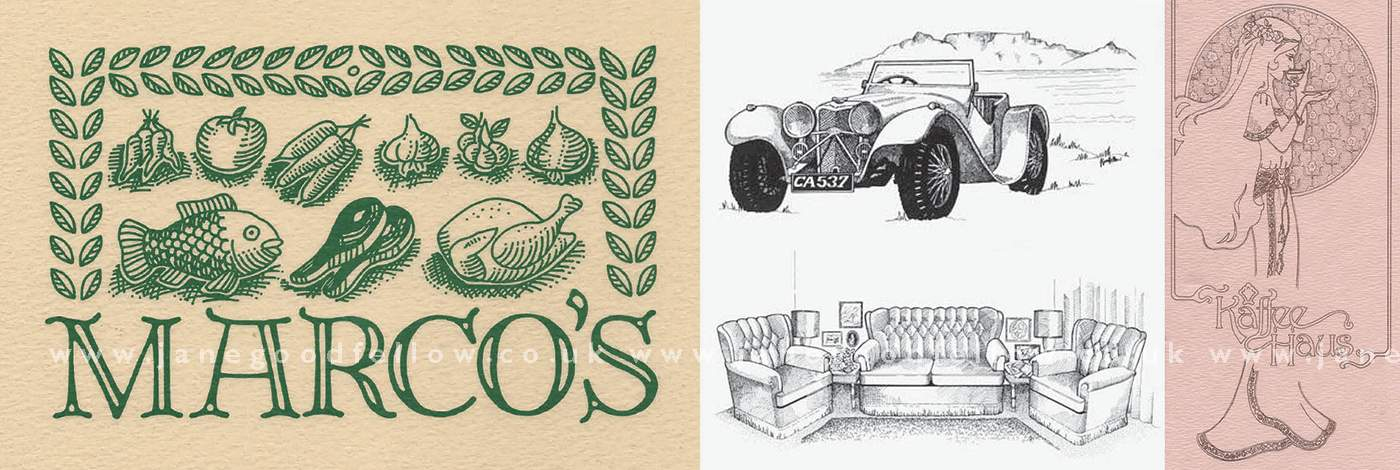 Commercial Illustrations (slider)