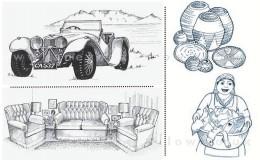 Car & Sofa
