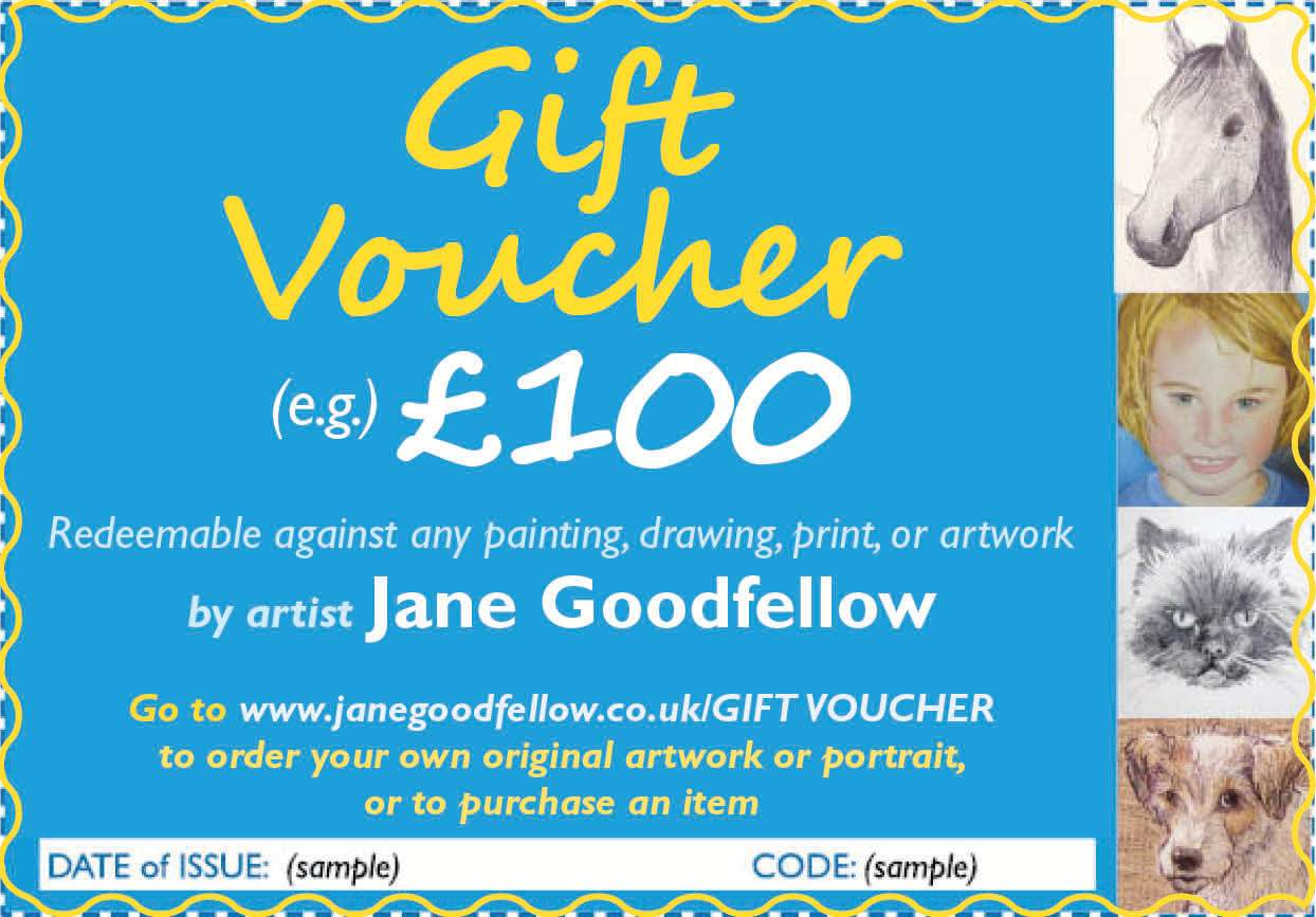 Jane Goodfellow Gift Voucher