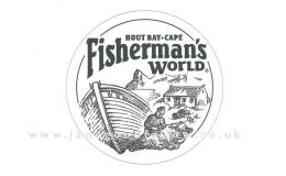 Fisherman's World graphic design