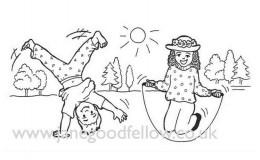 Cart Wheel Illustration