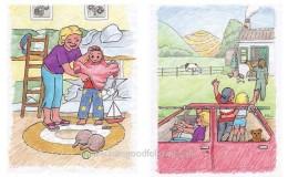 Pencil & Crayon illustration